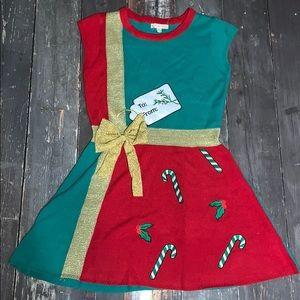 Christmas sweater Dress NWOT Medium